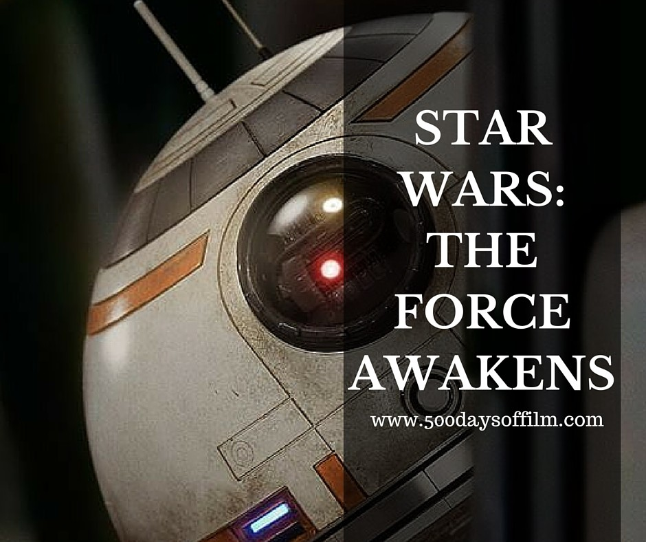 2. Star Wars: The Force Awakens - Click here to read my review