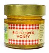 Etiketten für Honigglas