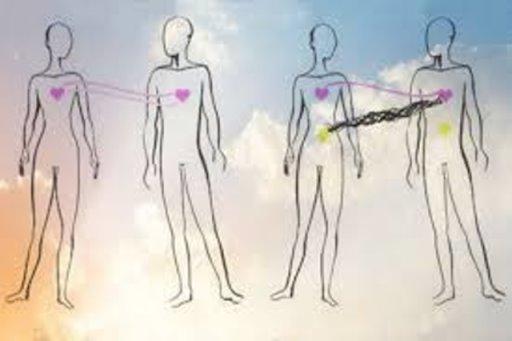 Bänder und energetische Verstrickungen lösen.