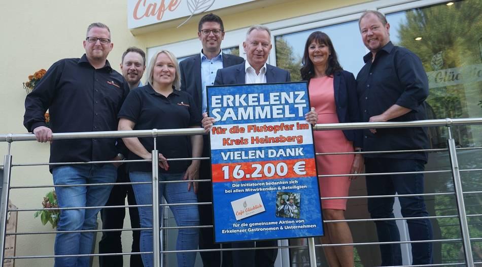 Erkelenz sammelt 16.200 Euro