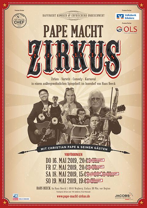 Pape macht Zirkus 2019