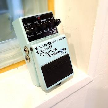 レンタル機材 BOSS CE-5  Chorus Ensemble ¥0/h