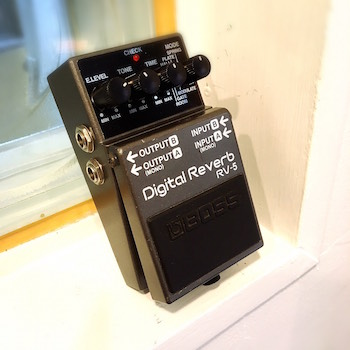 レンタル機材 BOSS RV-5  Digital Reverb ¥0/h