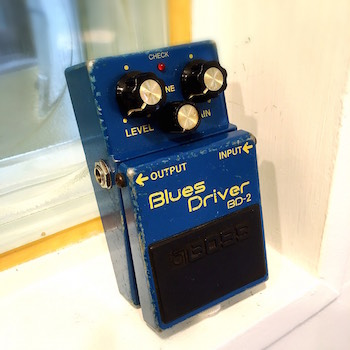 レンタル機材 BOSS BD-2  Blues Driver ¥0/h