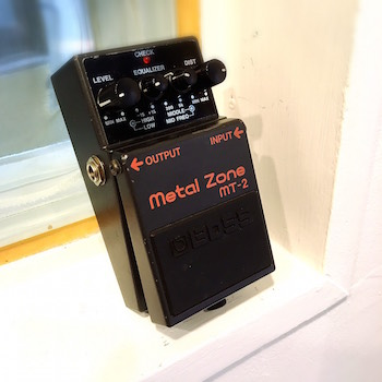 レンタル機材 BOSS MT-2  Metal Zone ¥0/h