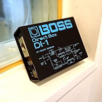 レンタル機材 BOSS DI-1 ¥0/h