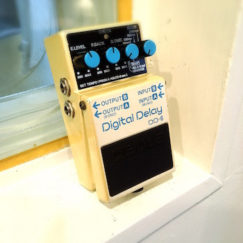 レンタル機材 BOSS DD-6  Digital Delay ¥0/h