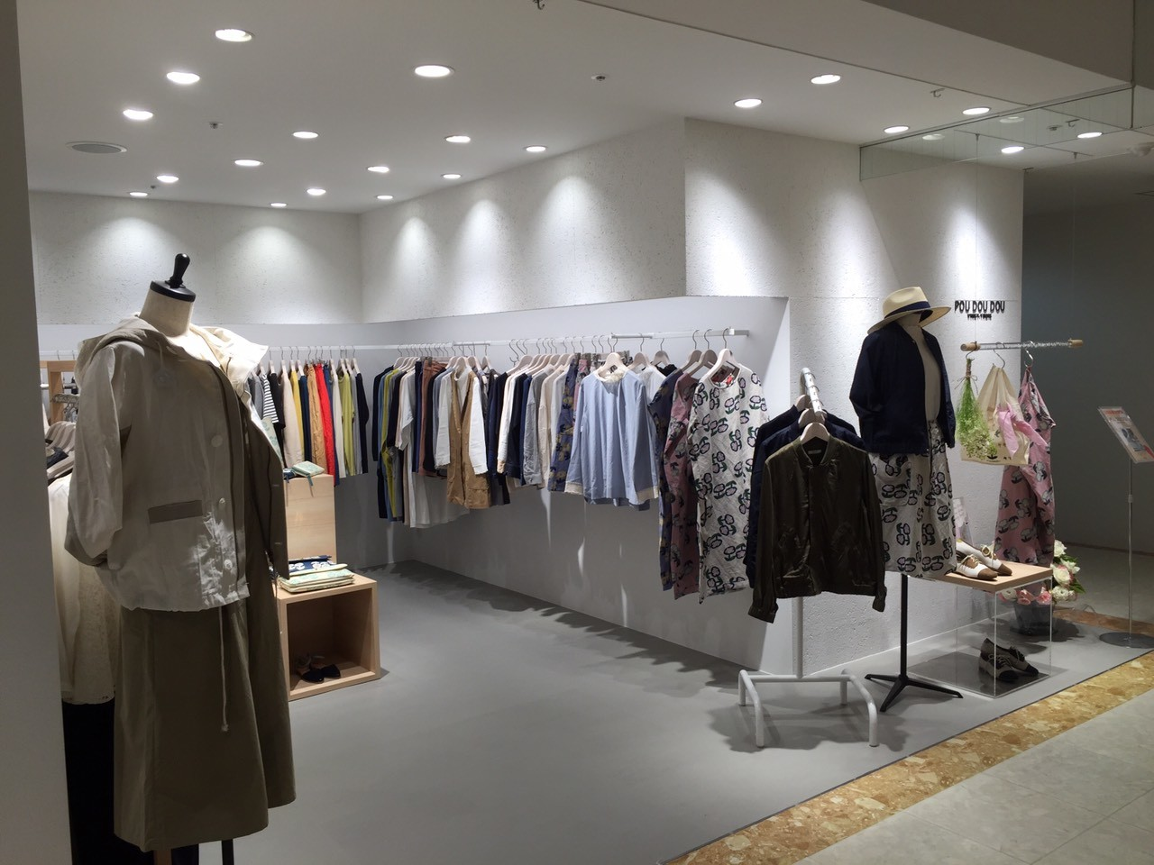 POUDOUDOU名古屋パルコ店様 【新装/設計】