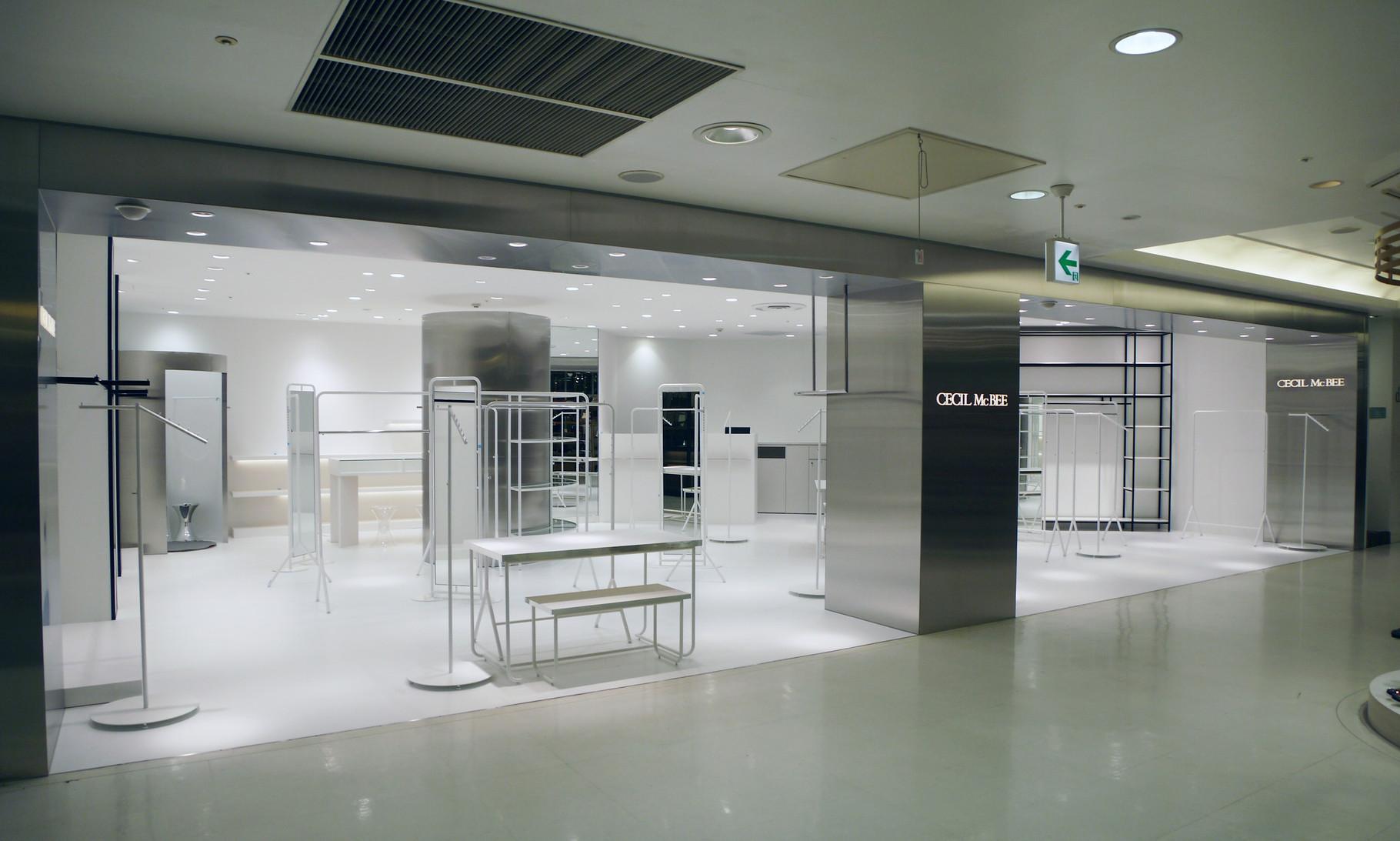 CECILMcBEE 広島パルコ店様【新装/施工】