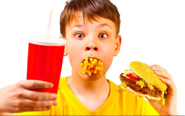 obesità infantile e sovrappeso.