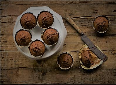 Ricetta muffin al cioccolato leggera