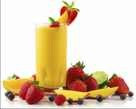 Ricetta frullati di frutta estiva leggera.