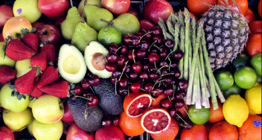 Frutta e verdura.