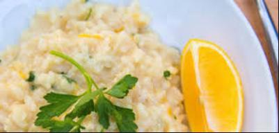 ricetta risotto al limone e zenzero leggera