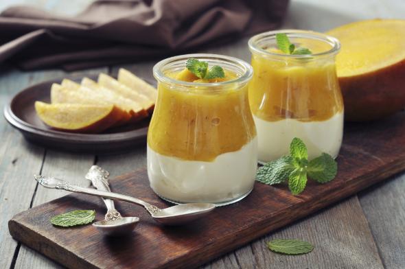 Ricetta yogurt con maracuja leggera.