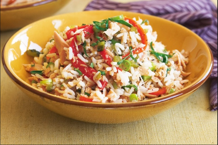 Ricetta insalata di riso leggera