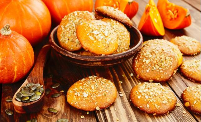 Ricetta biscotti alla zucca leggera