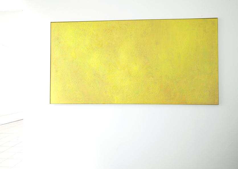 """Climax"", 2010, 200 x 100 cm, Öl auf Leinwand, Ausstellungsansicht: ""Secret Garden"", 2010, Galerie Hans Tepe, Damme"