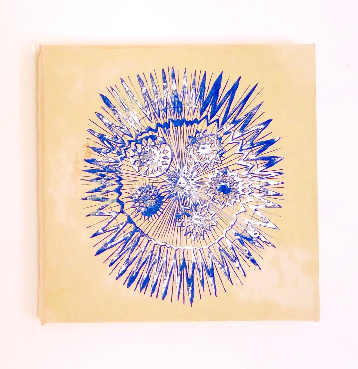 "Astro"", 2016, 60 x 60 cm, Öl auf Leinwand Foto: Ralf Timm"
