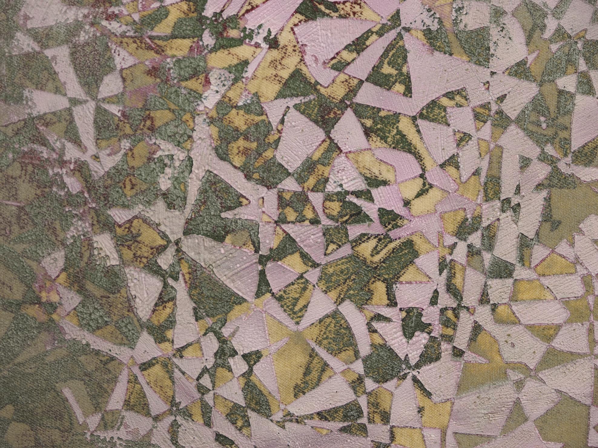 """Ornamental Jeff Koons"", 2014, Detail, Öl auf Leinwand, 100x200 cm"