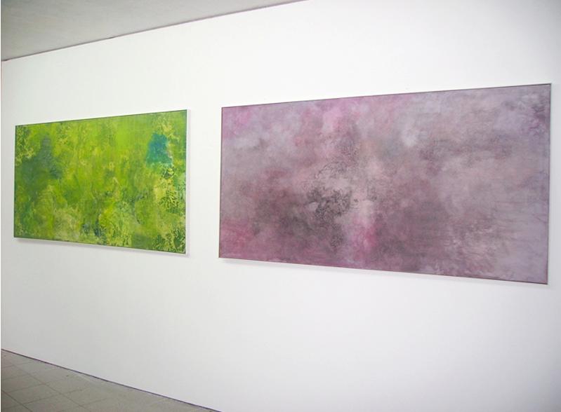 "Ausstellungsansicht: ""Secret Garden"", 2010, Galerie Hans Tepe, Damme"