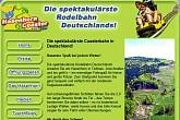 Sommerrodelbahn Hasenhorn-Coaster in Todtnau. Mit Downhill-Parcours für Biker und Rodeln im Winter