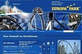 Europapark Rust, Deutschlands grösster und beliebtester Freizeitpark. Nahe Freiburg im Breisgau und Offenburg
