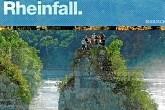 Rheinfall bei Schaffhausen in der Schweiz. Europas grösster Wasserfall.
