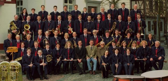 2000 - Erstmals mit unserem Dirigenten Hans-Jörg Haas
