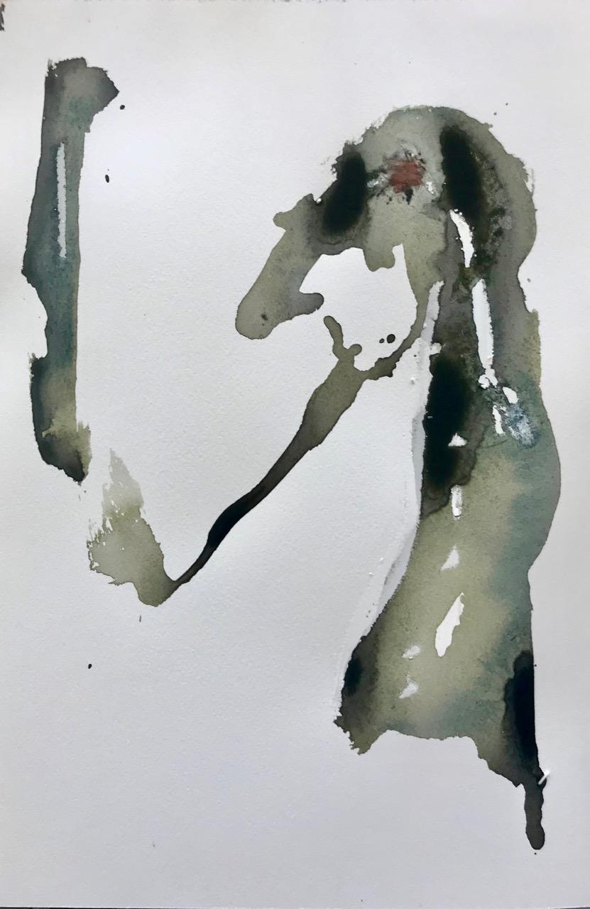 Lehrer Lämpels neue Abenteuer, Aquarell und Tusche auf Papier, 2018