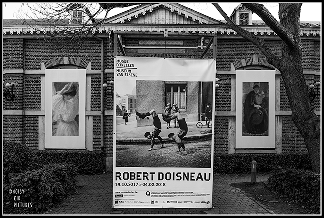 Expo photo Doisneau - Le photographe Noisy Kid Pictures était présent à Bruxelles