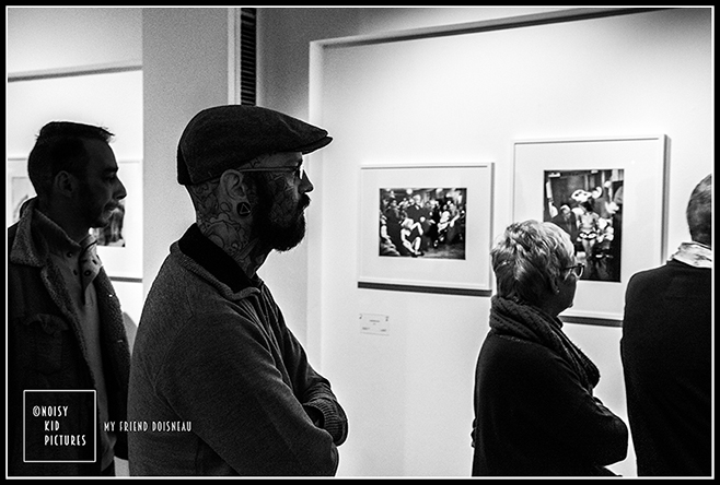 Doisneau photo expo vue par Noisy Kid Pictures un photographe à Bruxelles
