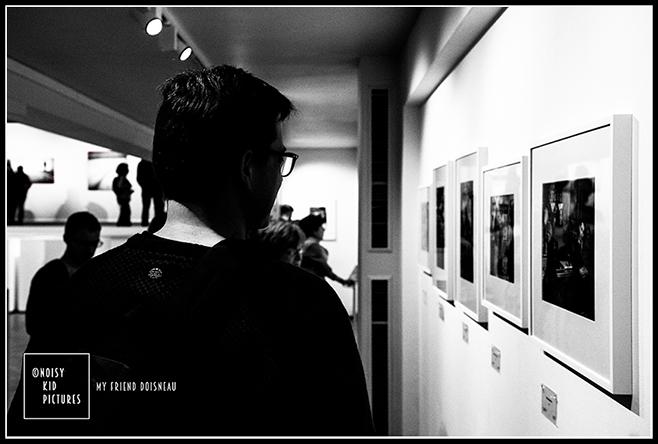 Expo de photographies sur Doisneau le photographe photographiée à Bruxelles par Noisy Kid Pictures