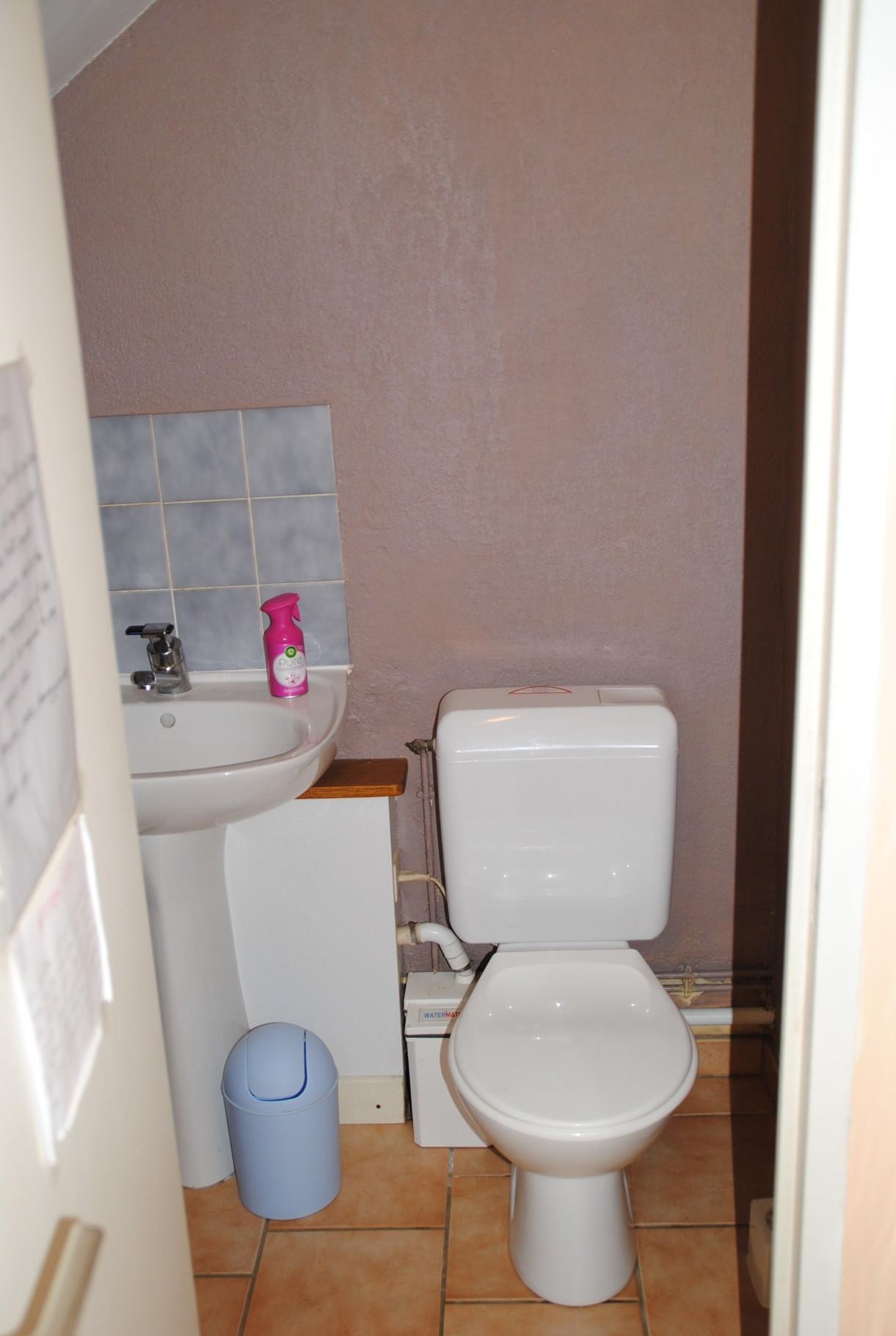 Les WC (séparés)