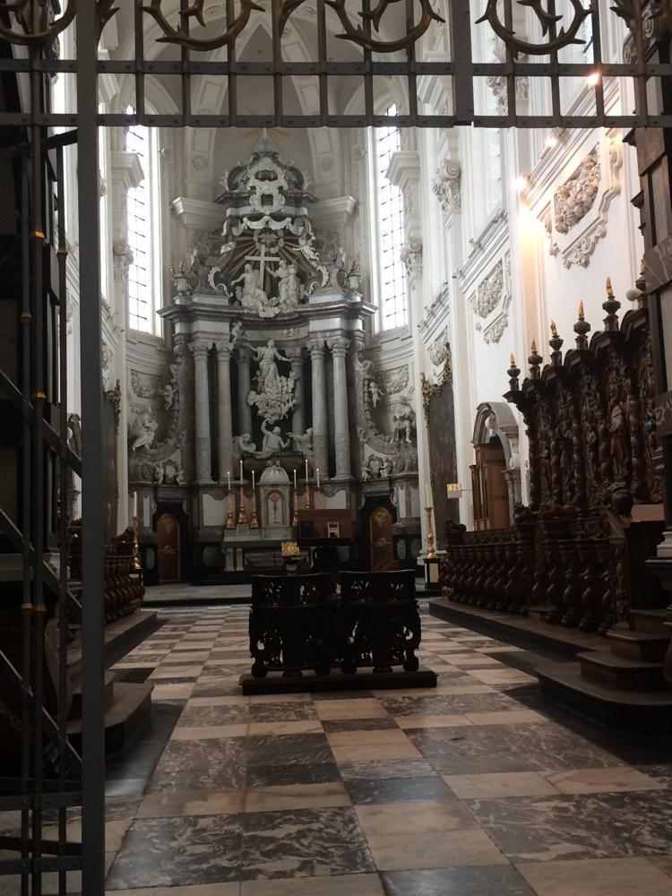 De abdijkerk van Averbode