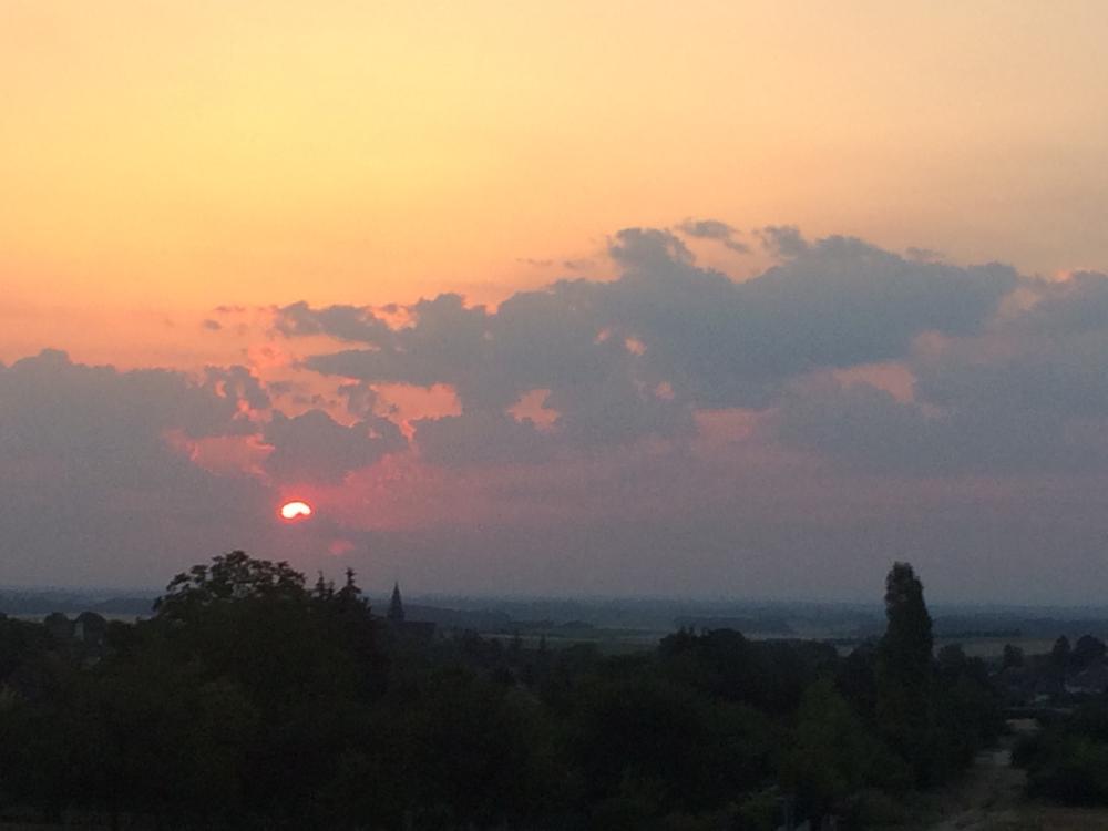 Op pad bij zonsopgang