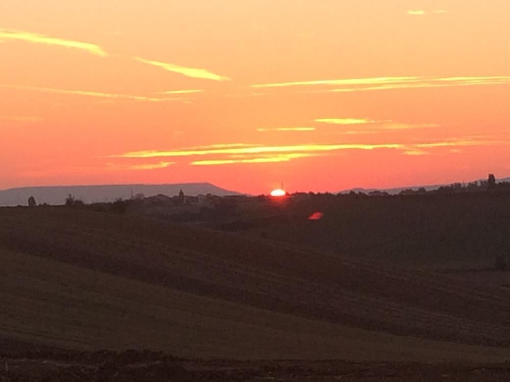 Elke ochtend begint met een waanzinnig mooie zonsopgang