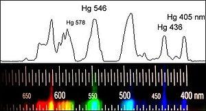 видимый спектр света и его длины волн