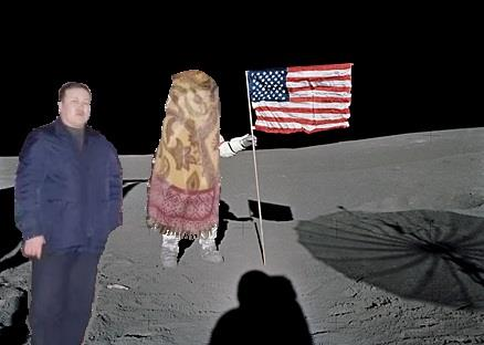 Луну не проведешь, не обманешь!