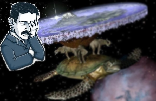 Новый тренд деградантов в физике - Земля плоская!!!