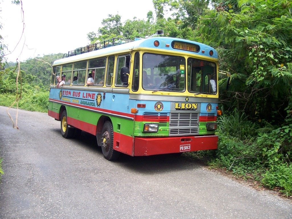 Bus to Bob Marley Mausoleum