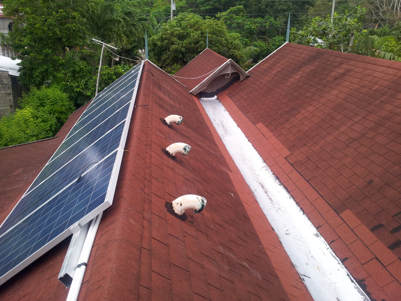 New Solar Roof