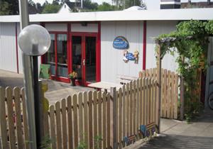Eingang des Kindergartens