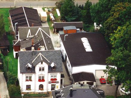 Firmengebäude Sargfabrik Pollmer GmbH heute