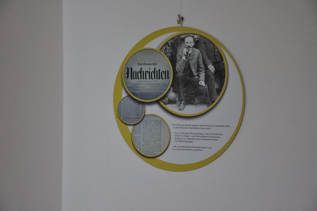 Frantschach - St. Gertraud, PAPIER - MENSCH - MASCHINE