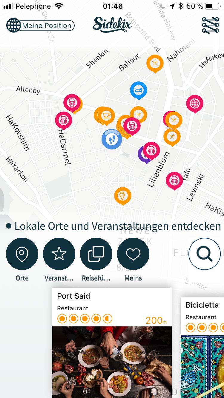 Die Sidekix-App