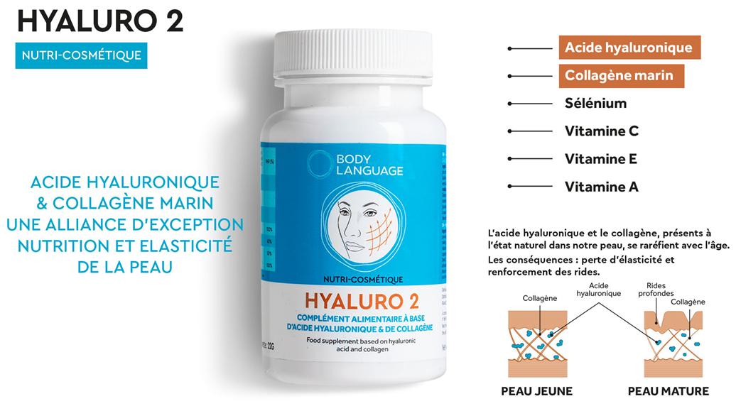 Crème collagène et acide hyaluronique