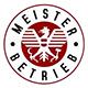 """Gütesiegel """"MEISTERBETRIEB"""" lt. Verordnung des Bundesministers für Wirtschaft, Familie und Jugend vom 29. September 2009, BGBl. II Nr. 313."""