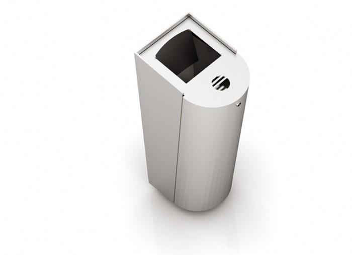 Abfallbehälter-Ascher CAB-Rio