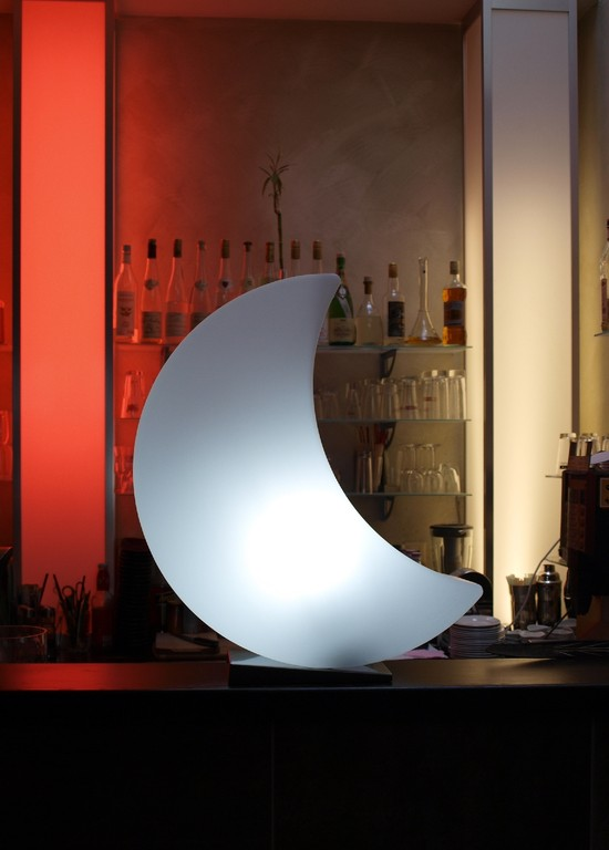 Lichtmöbel Mond